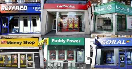 Betting shops in Hendon