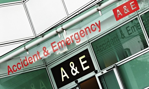 In the seven days to 7 December, 286,429 patients sought treatment from NHS A&E departments across E