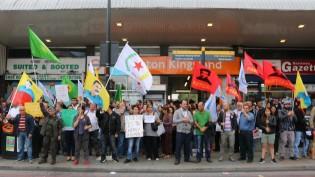 Londra'da İşid Protestoları devam ediyor