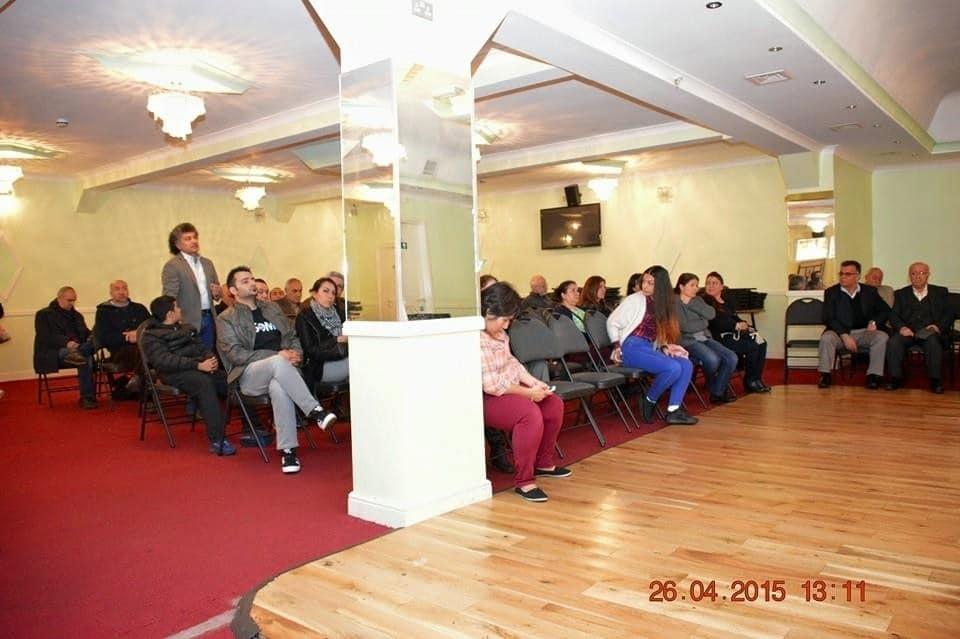 Kırkısraklılar Derneğinde  Ermeni Soykırımı Paneli 2