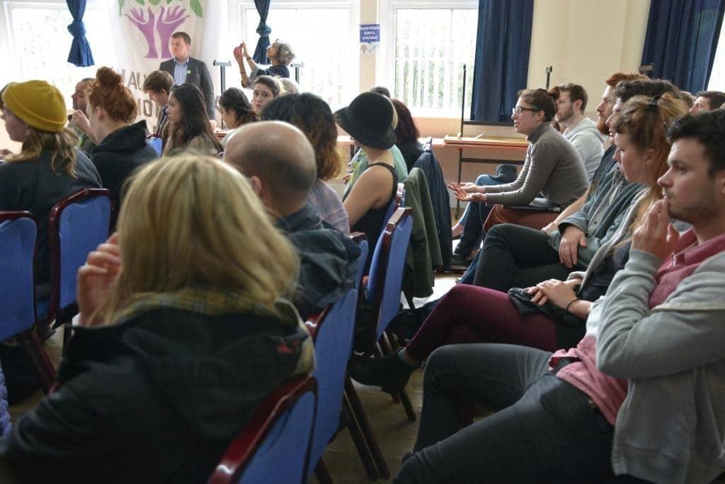 Green Parti Lideri Natalie Bennett KCC'de Konuştu 1