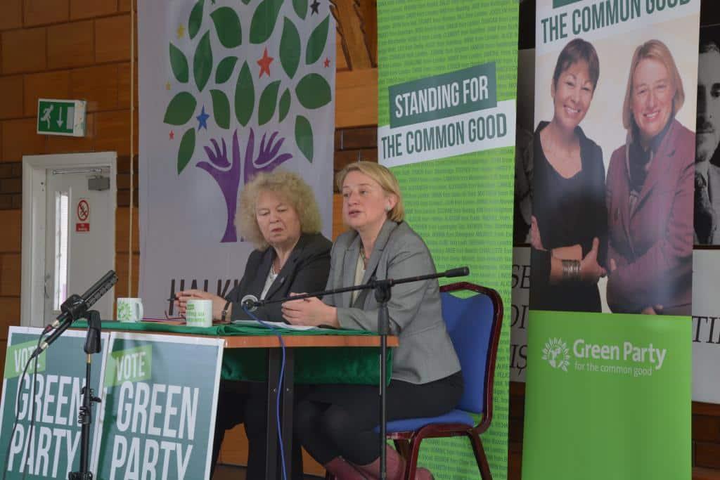 Green Parti Lideri Natalie Bennett KCC'de Konuştu