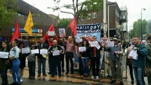 Haringey'de Kesintilere Karşı Eylemlikler