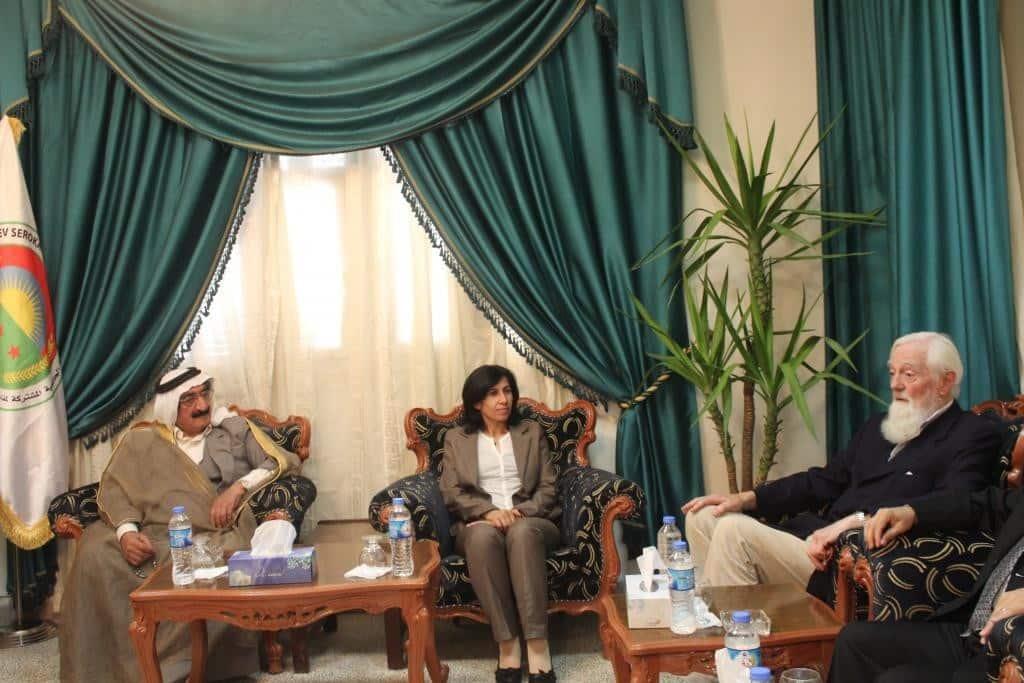 Lord Hylton Rojava'da: Demokratik Özerklik Sistemi Ortadoğu Sorunlarına En İyi Çözümdür 2