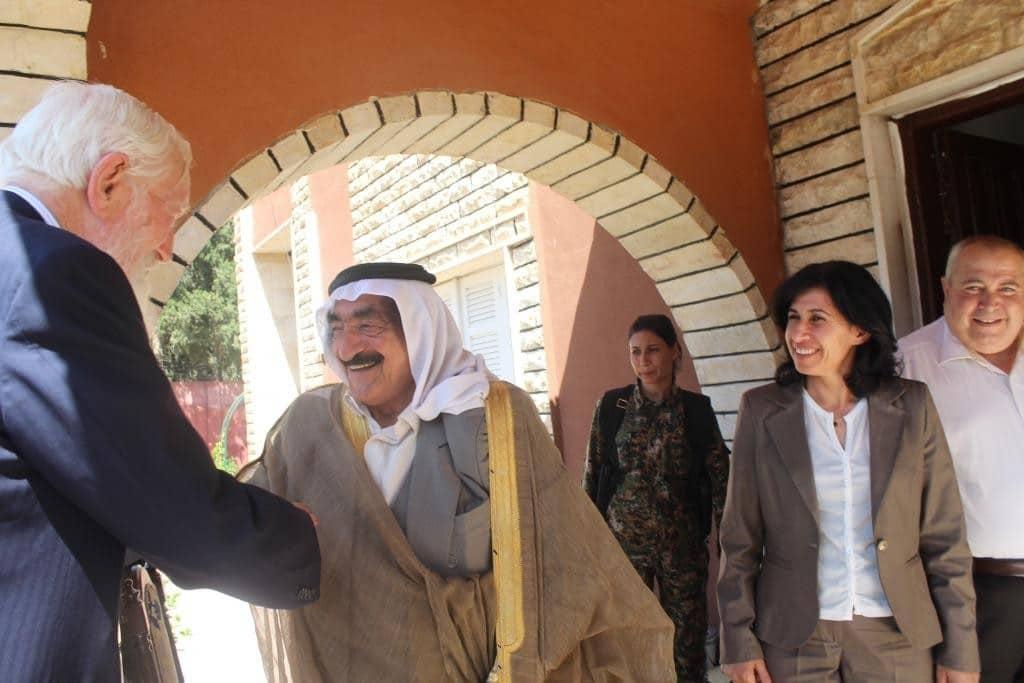 Lord Hylton Rojava'da: Demokratik Özerklik Sistemi Ortadoğu Sorunlarına En İyi Çözümdür 3