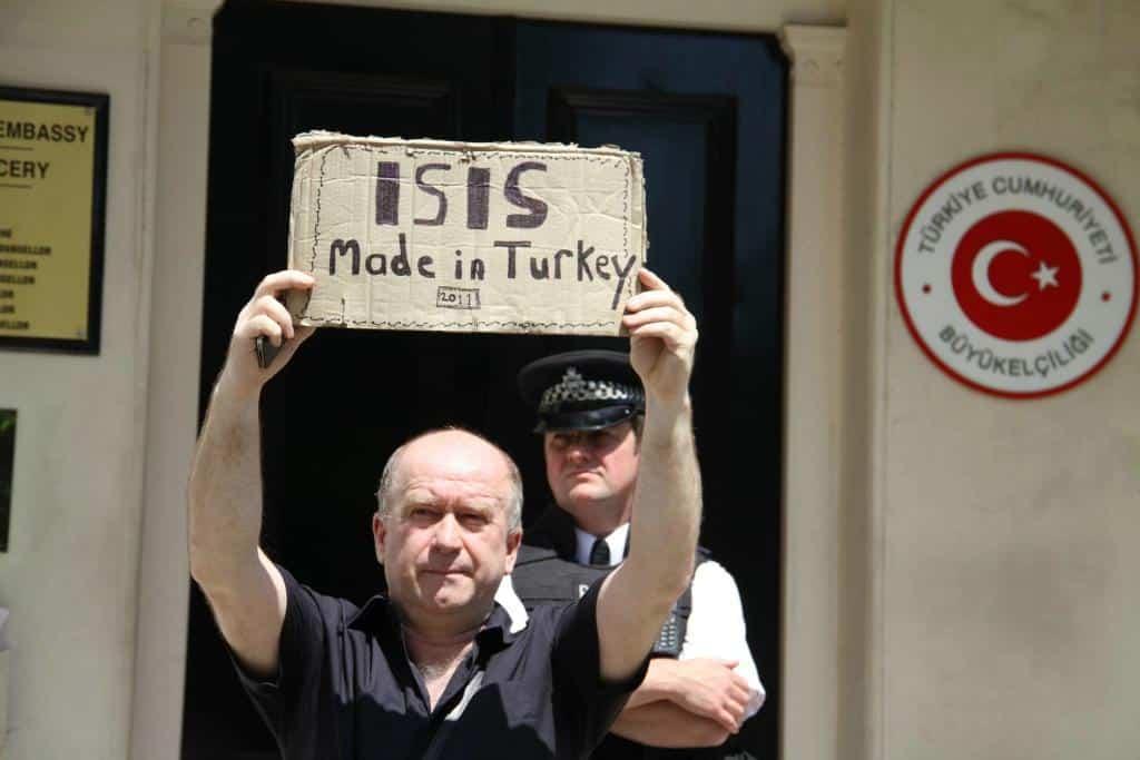 TC Londra Büyükelçiliği önünde protesto eylemi yapılacak