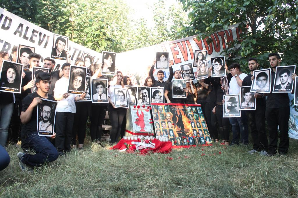 Sivas Katliamının 22'inci Yıldönümünde Londra'da Anma