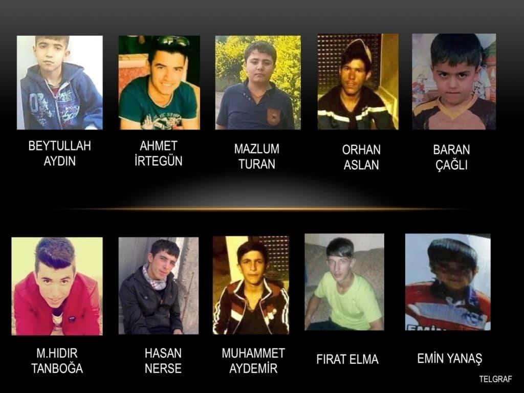 40 Gün İçerisinde 10'u Çocuk 52 Sivil, Türk Güvenlik Güçleri Tarafından Katledildi 1