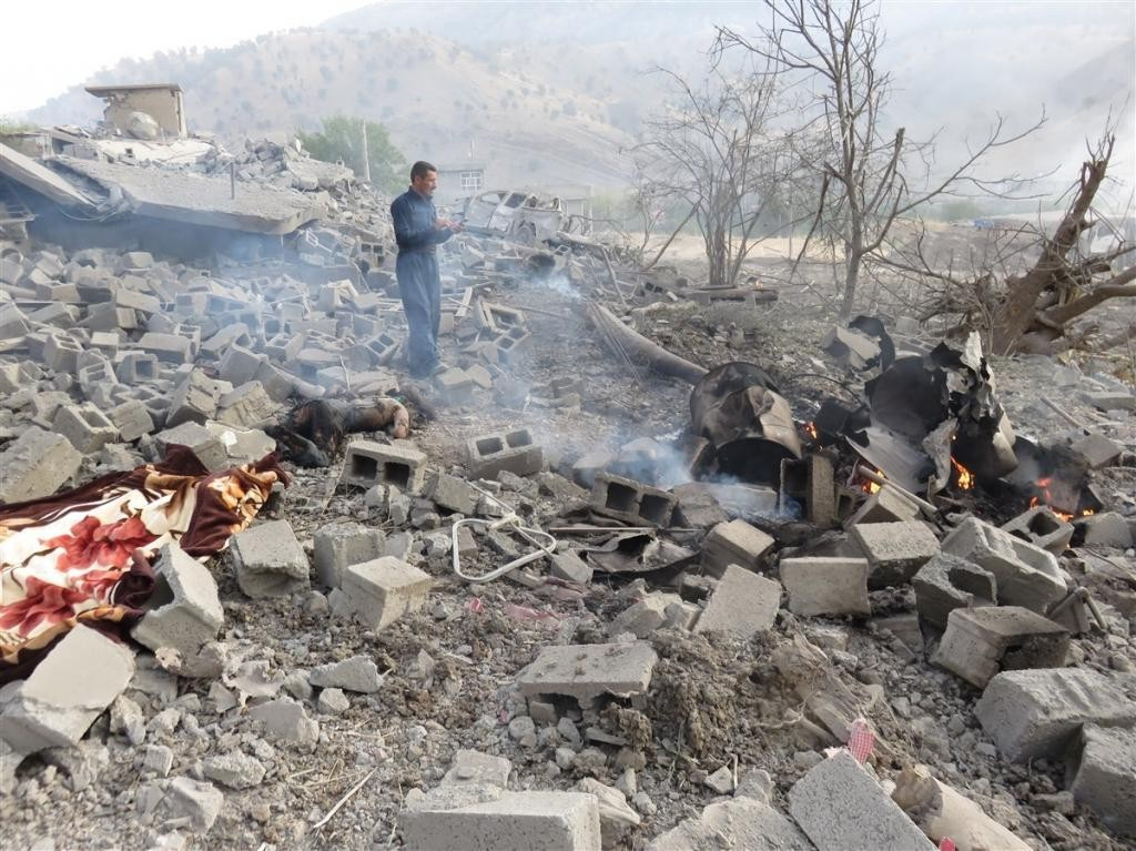 Türk Savaş Uçakları Kandil'de Köyü Hedef Aldı: Onlarca Ölü ve Yaralı 4