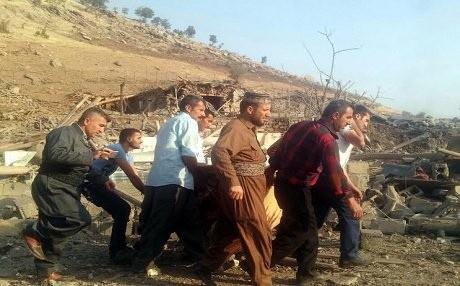 Türk Savaş Uçakları Kandil'de Köyü Hedef Aldı: Onlarca Ölü ve Yaralı 8