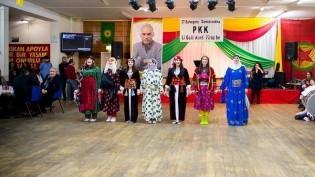 PKK'nin Kuruluş Yıldönümü İçin Londra'da Görkemli Kutlama