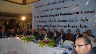 Demokratik Suriye Kongresi: Despotik zihniyete bir daha dönüş fırsatı vermeyeceğiz