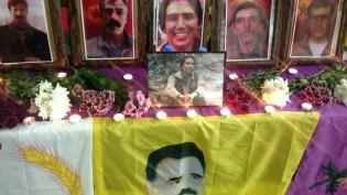 Şilan Kobani ve 4 arkadaşı Londra'da anıldı
