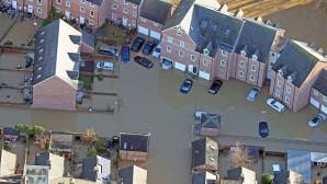 Kuzey İngiltere'yi Sel Vurdu