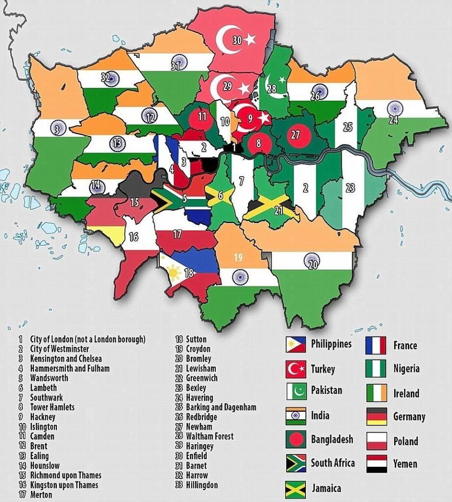 Londra'nın nüfusu 8.6 milyona ulaştı: Yüzde 50'si yabancı ülkelerde doğmuş 2