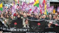 Paris'te binler, Sakine, Fidan ve Leyla için yürüdü