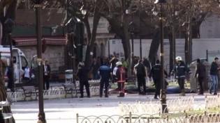 Sultanahmet Meydanında patlama: 10 ölü, 15 yaralı