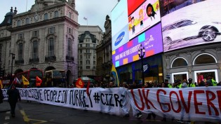 Londra Merkezde Cizre İçin İnsan Zinciri (VIDEO&FOTO GALERI)