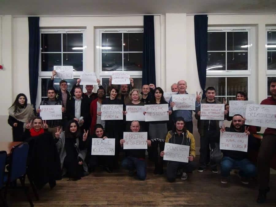 Kürtlerle Dayanışma Amaçlı Londra'da Büyük Eylem