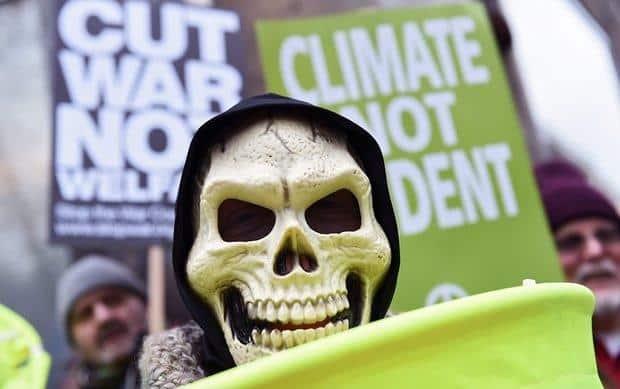 Londra'da Şimdiye Kadarki En Büyük Nükleer Silah Karşıtı Eylem 2