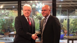 HDP Bingöl Milletvekili Hişyar Özsoy Londra'da Galler Başbakanı ile Görüştü