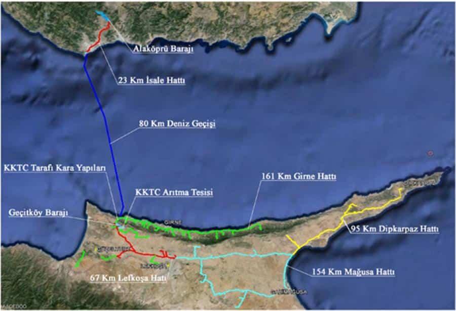 Kıbrıs'ta su meselesi giderek karışıyor 1