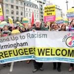 Londra Refugees Welcome Here Eylemi Foto: Erem Kansoy 19/03/2016