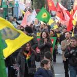 Londra'da Newroz Ateşi Foto: Erem Kansoy