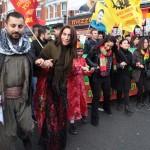 Londra'da Newroz Ateşi Foto: Erem KansoyLondra'da Newroz Ateşi Foto: Erem Kansoy