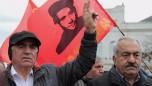 Newroz yürüyüşünden kareler