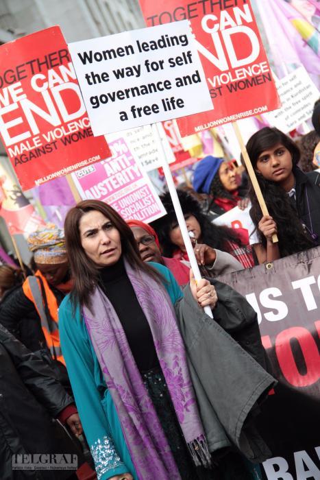 million women rise london 1