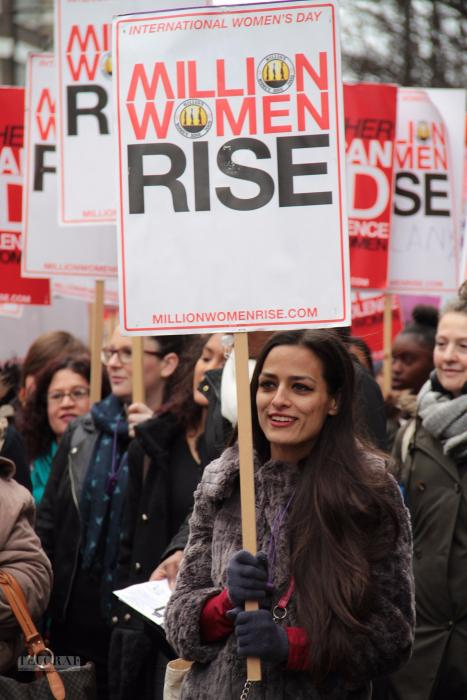 million women rise london 10