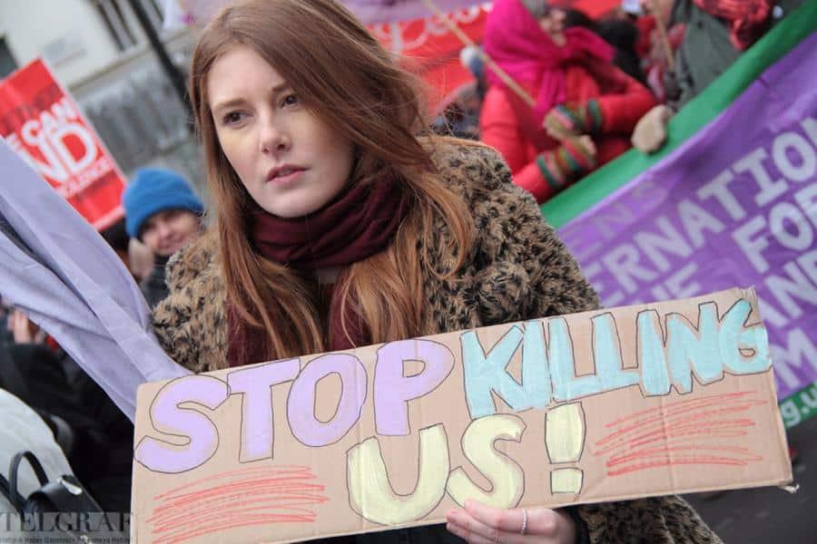 million women rise london 13