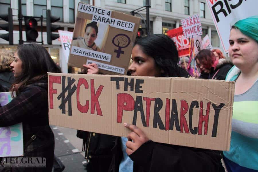 million women rise london 14