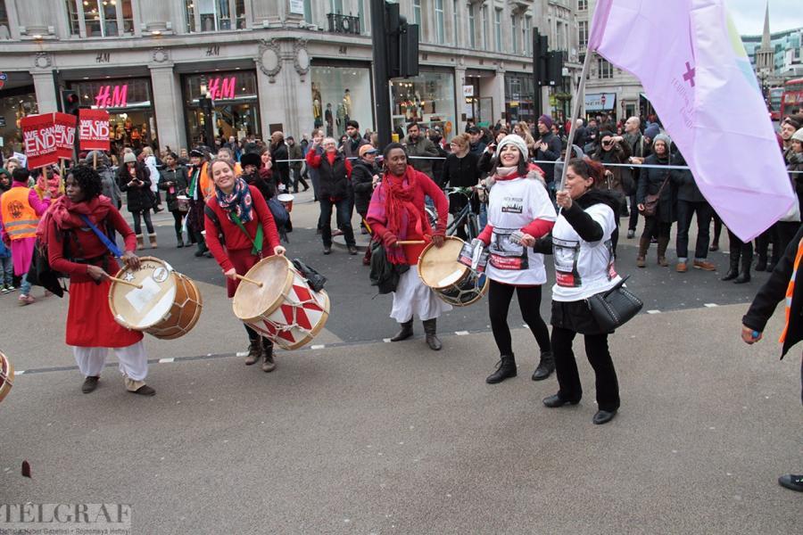 million women rise london 16