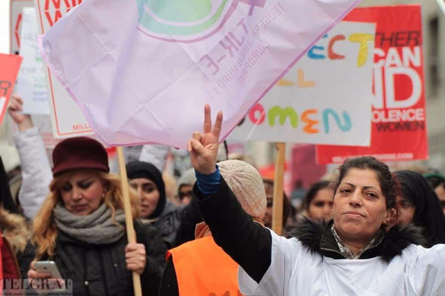million women rise london 17