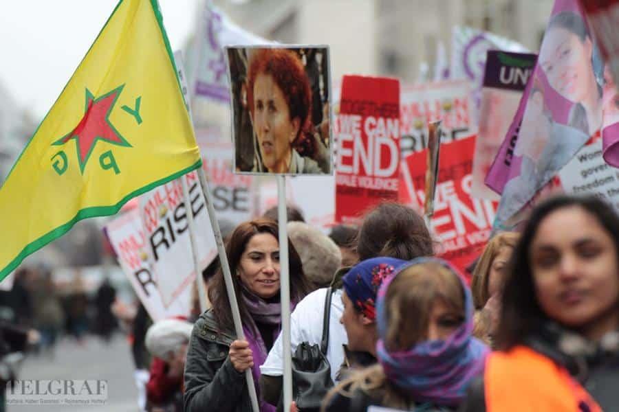 million women rise london 18