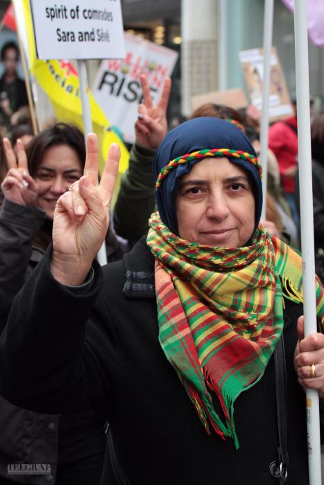 million women rise london 21