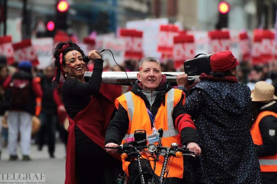million women rise london 23