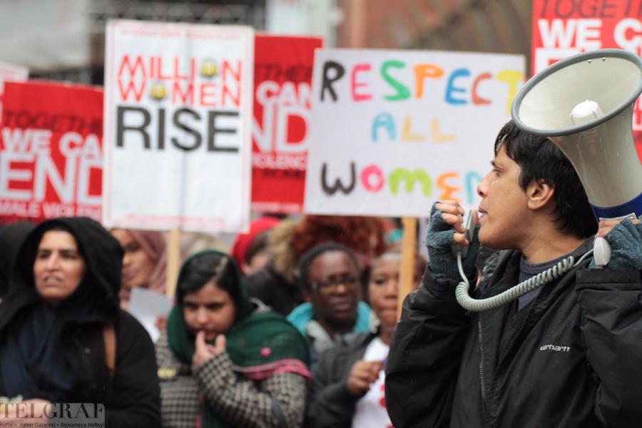 million women rise london 25