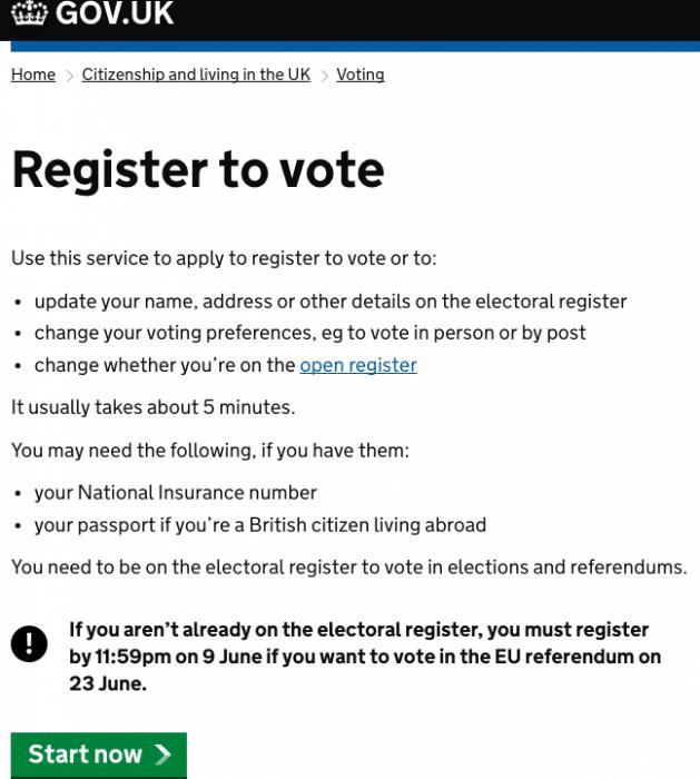 AB Referandumunda Oy Kullanmak İçin Kayıt Süresi Uzatıldı 2