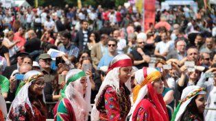 Londra'da coşku dolu festival