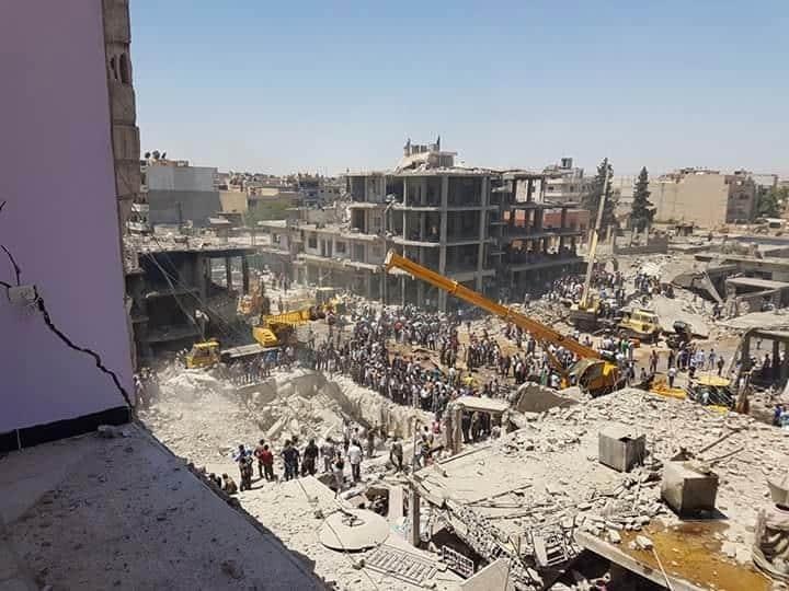 Şehit Sayısının 62'ye Ulaştığı Qamişlo Katliamına Tepkiler Artıyor 4