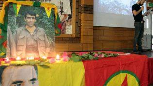 Kobane Direnişi Komutanlarından Gelhat Gabar Londra'da anıldı