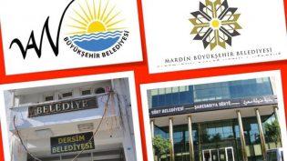 Van, Dersim, Siirt ve Mardin Belediyelerine Kayyum Atandı
