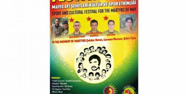 Kürdistanlı Gençlerden Londra'da Kültür ve Spor Etkinliği
