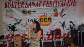 Gik-Der Kültür-Sanat Park Festivali Verilen Resepsiyonla Başladı
