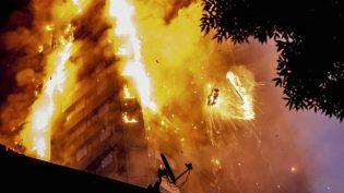Londra Yangını: 6 Ölü, Onlarca Kişiye Halen Ulaşılamadı