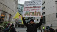 Londra'da Binlerce Kişi Efrin İçin Yürüdü