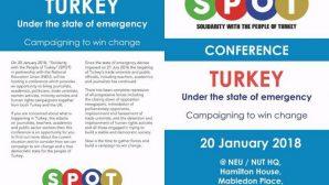 Londra'da 'Olağanüstü Hal Altındaki Türkiye' Konferansı